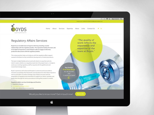 Fresh new website for Boyds