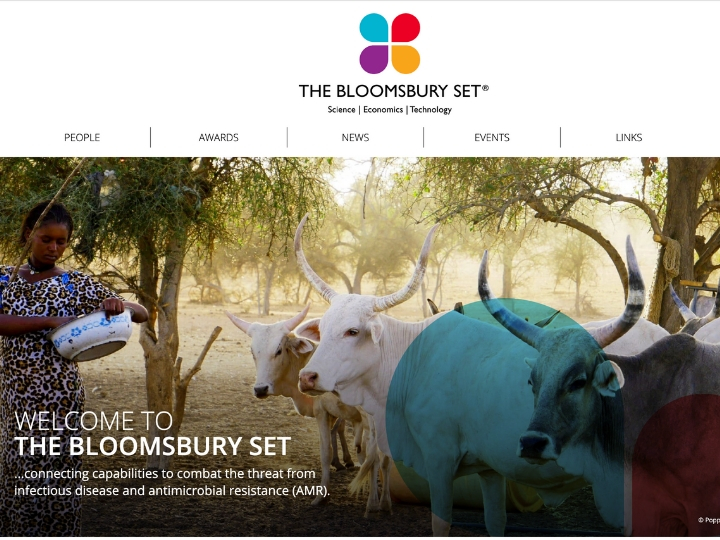 A new website for the Bloomsbury SET