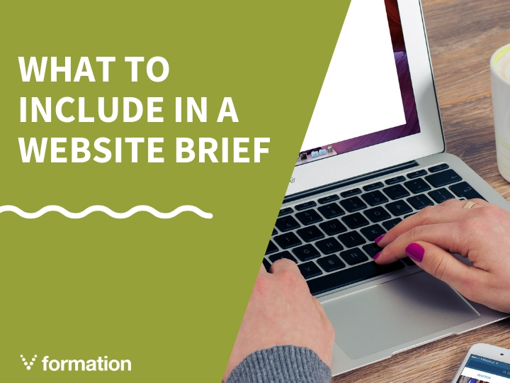 What to include in a brief for a new website